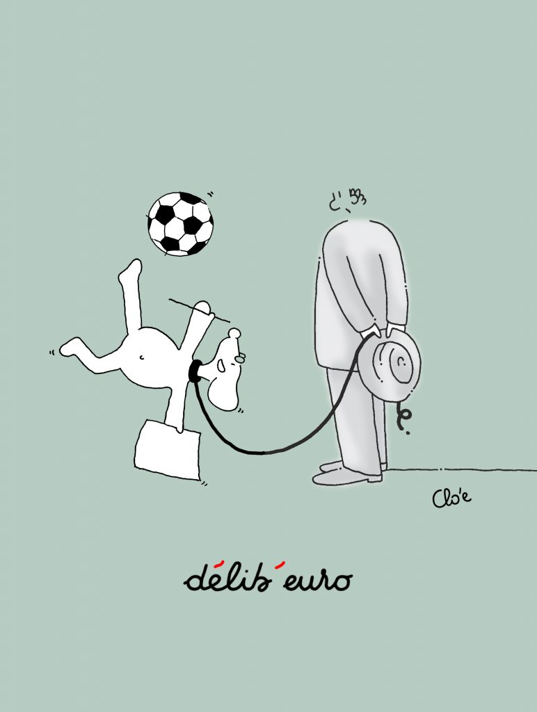 délib'euro – l'Euro 2016 des écrivains, vu par Clo'e dans délibéré