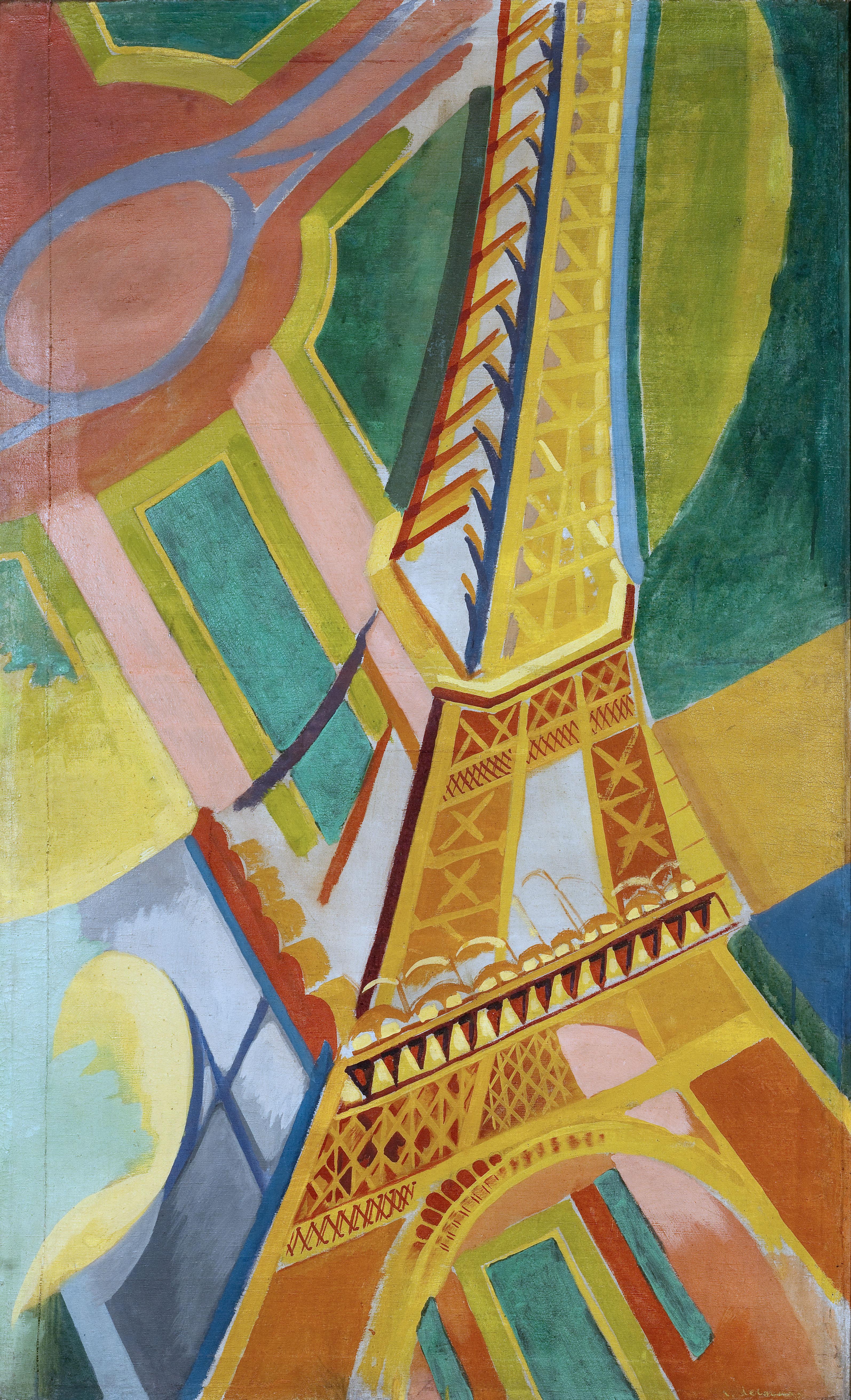 Robert Delaunay Aux Sources Du Pop